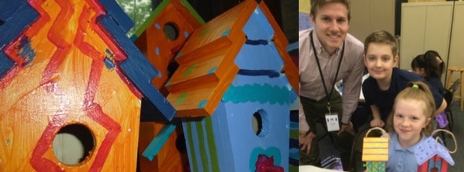 We repainted the W. 58th St. birdhouses.