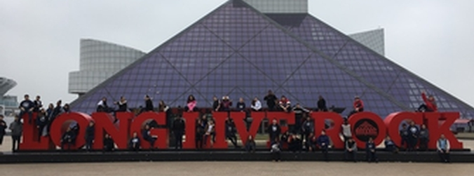 8th Grade Visits the Rock & Roll Hall of Fame